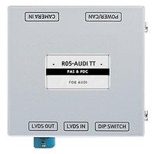 Адаптер для під'єднання камери заднього виду в Audi TT з паркувальними лініями - Короткий опис