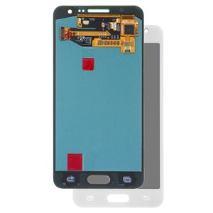 LCD compatible with Samsung A300 Galaxy A3, (white, with touchscreen, original (change glass) )