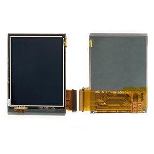 LCD for Audiovox  PPC6700; Dopod 818, 828+; I-Mate JAM; QTek S100, S110, S200; O2 XDAMini; Orange SPVM500; T-Mobile MDA Compact; Vodafone VPAcomp Cell Phones, (yellow flat cable)
