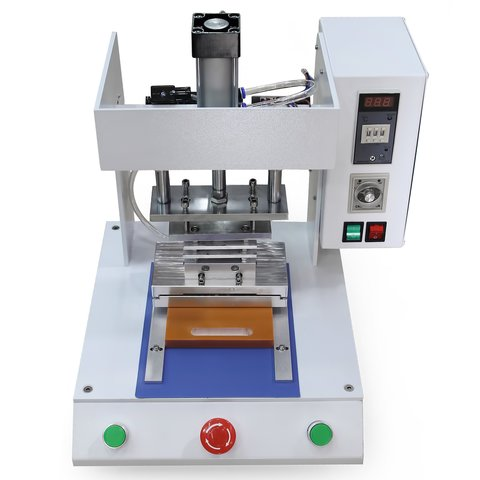 Semi Automatic Device For Frame Gluing As 654 For Apple