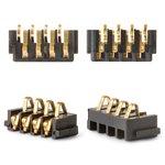 Conector de batería puede usarse con Blackberry 8100, 8220, 8300, 8310, 8320, 8520, 9000, 9630, 9700, 9780