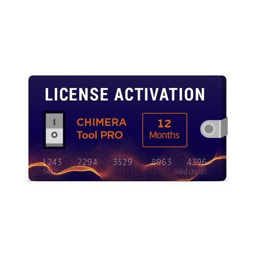Activación de licencia para Chimera Tool PRO