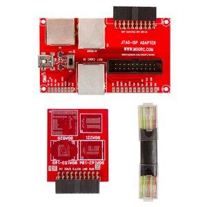 Adaptador MOORC JTAG-ISP 5-en-1