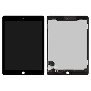 Pantalla LCD para tablet PC Apple iPad Air 2, negro, con cristal táctil, Original (PRC)