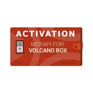 Активация Merapi для Volcano Box