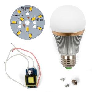 Комплект для сборки светодиодной лампы SQ-Q22 5730 5 Вт (теплый белый, E27), диммируемый