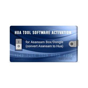 Активация Hua Tool Software для Asansam Box/Dongle (конвертация Asansam в Hua)