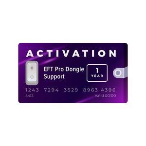 Активация поддержки для донгла EFT на 1 год
