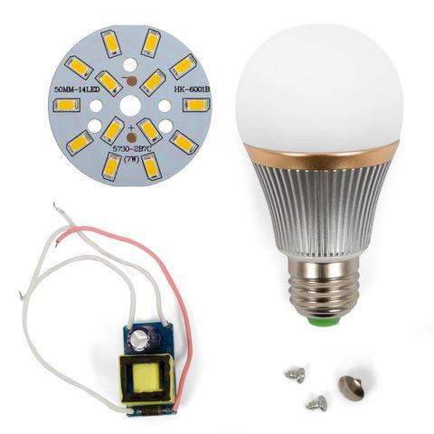 Комплект для збирання світлодіодної лампи SQ Q22 7 Вт теплий білий, E27