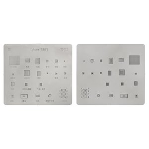 BGA Stencil P3012 for Apple iPhone 5 Cell Phone, (20 in 1)