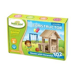 """Juego de construcción IGROTECO """"Casa con mirador"""""""